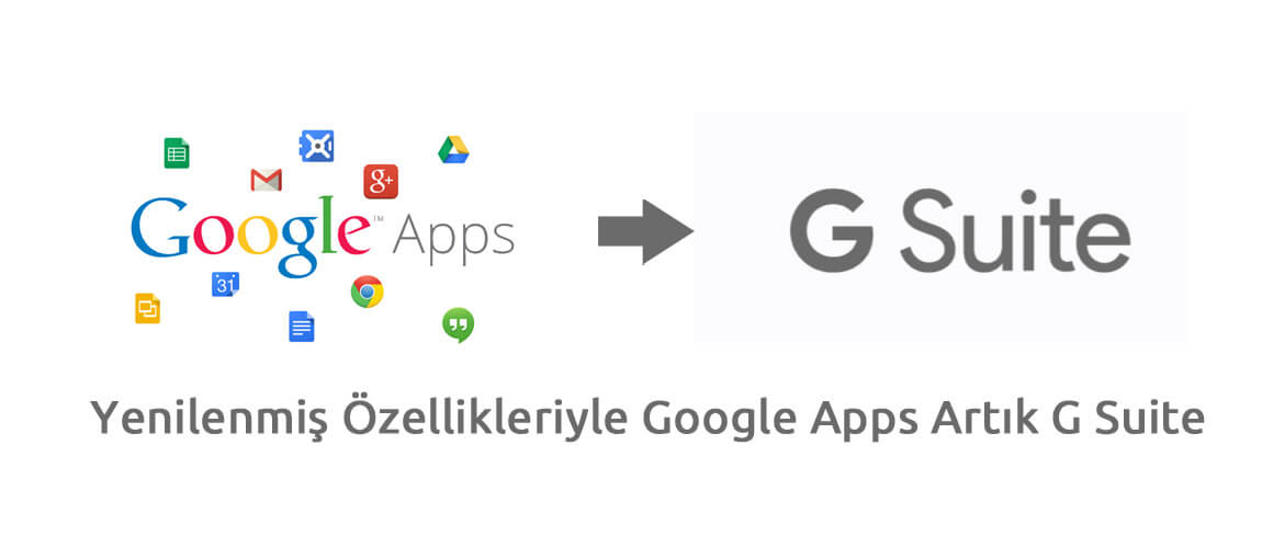 Yenilenmiş Özellikleriyle Google Apps Artık G Suite