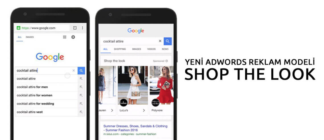 Yeni Adwords Reklam Modeli: Shop The Look