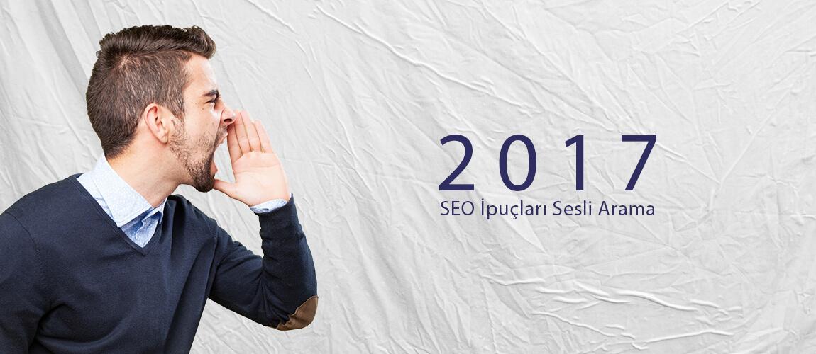 2017 SEO İpuçları Sesli Arama