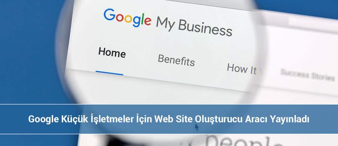 Google Web Site Oluşturucu