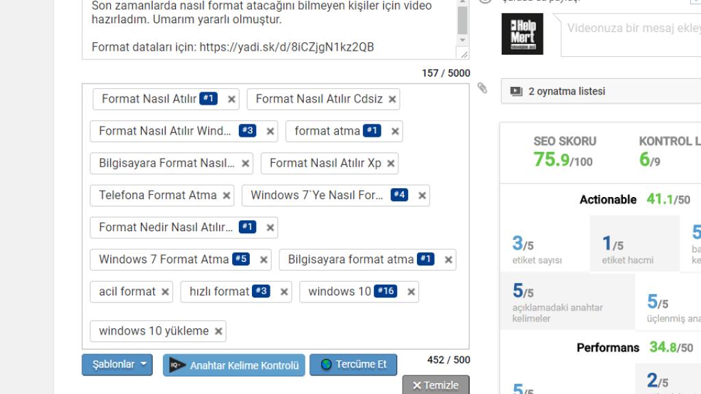 YouTube Video Etiketleri Nasıl Olmalıdır?
