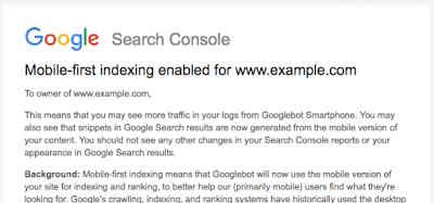 Google Mobil Öncelikli İndekslemenin Başlangıcını Resmi Olarak Açıkladı