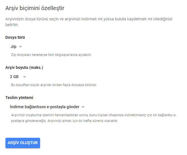 Google Plus Verileri Nasıl İndirilir?