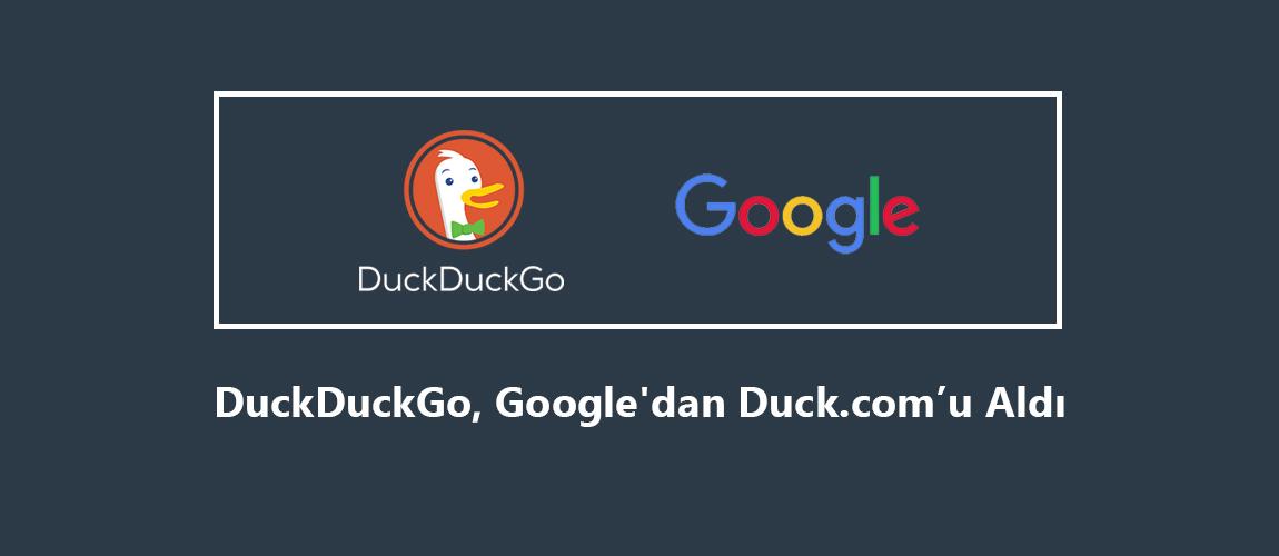 DuckDuckGo Duck.com'u Satın Aldı