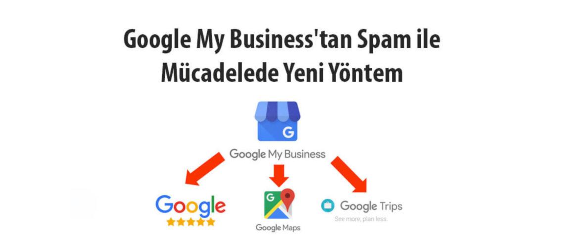 Google My Business'tan Spam ile Mücadelede Yeni Yöntem