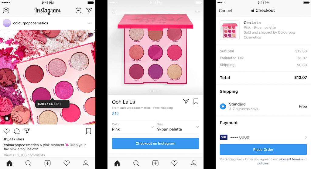 Instagram'a Online Alışveriş Özelliği