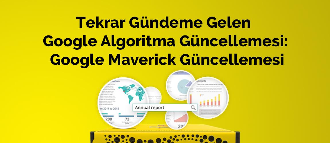 Google Maverick Güncellemesi