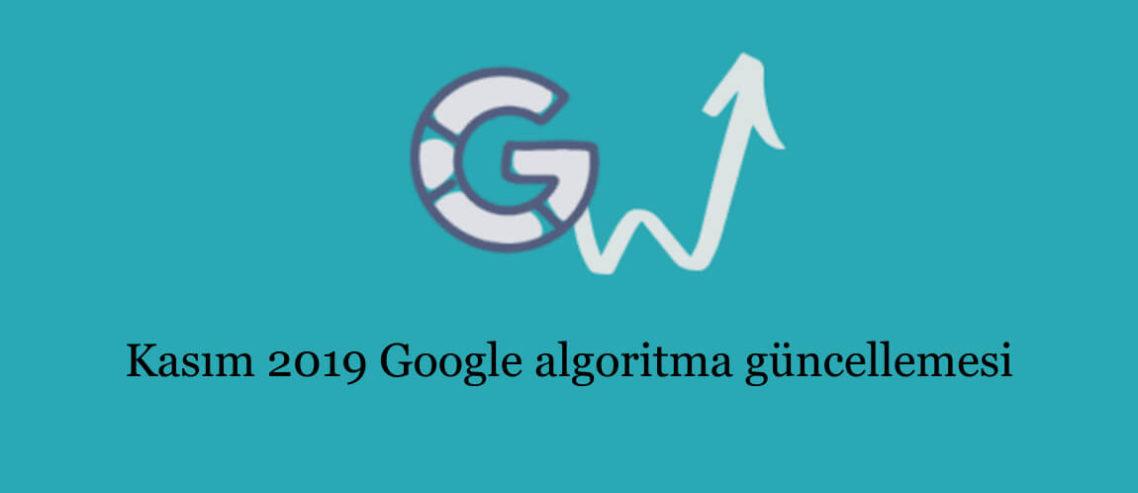 Kasım 2019 Google algoritma güncellemesi