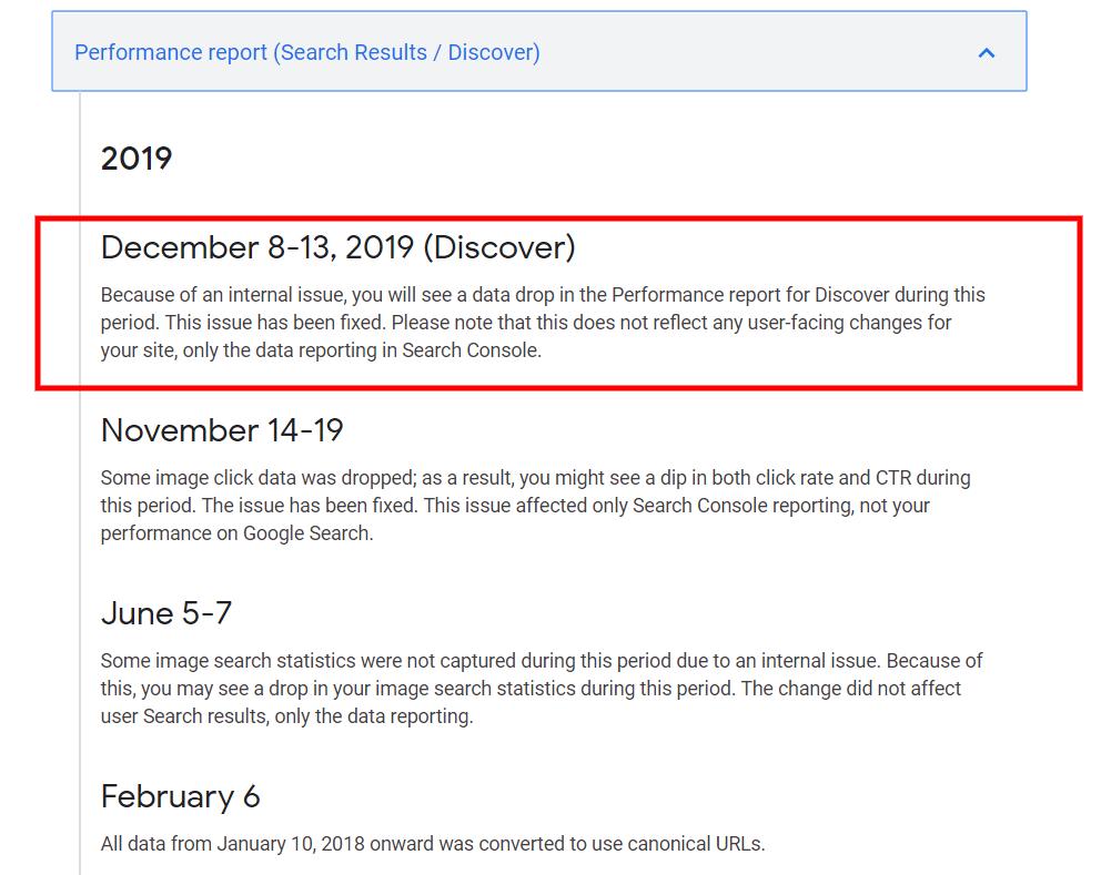 Google, Search Console aralık verilerinde yanlışlık olabilir