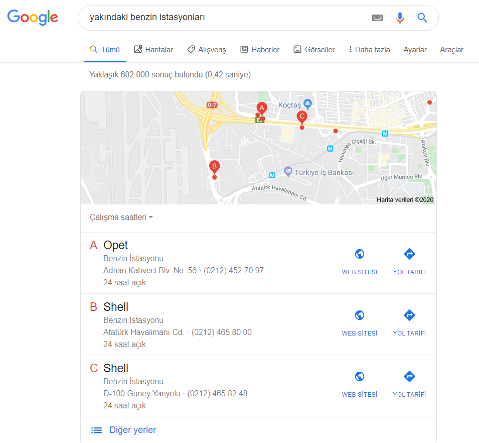 Google My Business - Sample 1