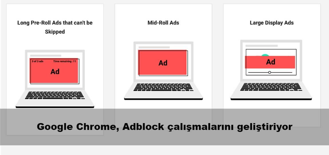 Google Chrome, Adblock çalışmalarını geliştiriyor