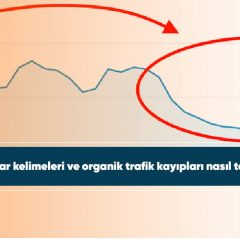 SEO anahtar kelimeleri ve organik trafik kayıpları nasıl telafi edilir?