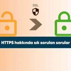 HTTPS hakkında sık sorulan sorular