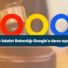 ABD Adalet Bakanlığı Google'a dava açacak