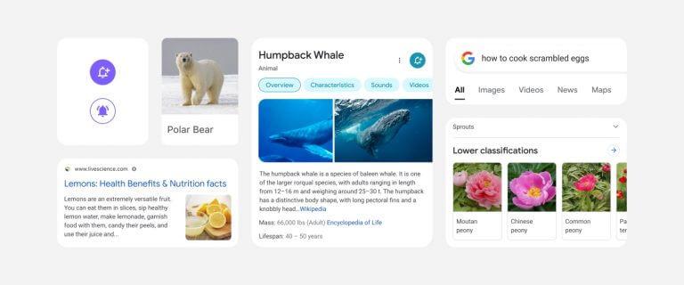 Google Mobil Arama Sonuçlarını Yeniden Tasarlıyor